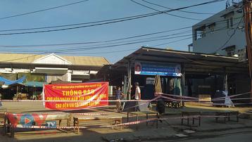 Đà Nẵng: Tạm dừng hoạt động, phun khử khuẩn chợ Hòa Khánh Nam