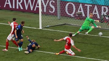 Kết quả Đan Mạch 0-1 Phần Lan: Eriksen đột quỵ, Đan Mạch thua trận ngày ra quân