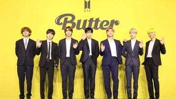"""Nhóm nhạc BTS dẫn đầu BXH Billboard 100 với bản hit """"Butter"""""""