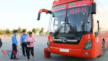 Cần Thơ tạm dừng thêm các chuyến xe đến 7 tỉnh, thành có dịch bệnh