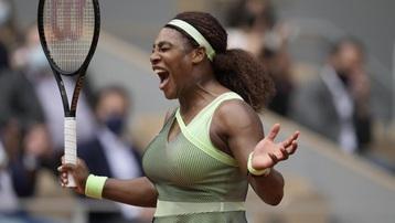 Kết quả tennis Roland Garros mới nhất: Thời đến với Serena Williams!