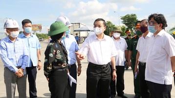 Chủ tịch UBND TP. Hà Nội Chu Ngọc Anh: 'Nhanh chóng dập dịch, phục hồi sản xuất, giám sát chặt người từ vùng có dịch ra'
