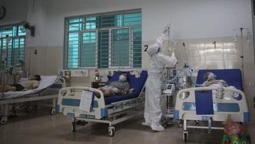 Những hình ảnh bên trong khu vực điều trị bệnh nhân nặng và nguy kịch ở Bệnh viện Hồi sức COVID-19 TP.HCM