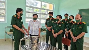 Thành lập Bệnh viện dã chiến truyền nhiễm số 5B quy mô 500 giường tại Bình Dương