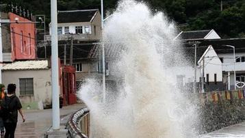 Bão In-Fa chính thức đổ bộ lần hai vào Trung Quốc