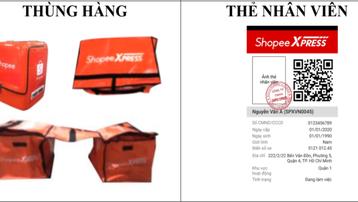 TP.HCM công bố đặc điểm nhận diện shipper được giao hàng