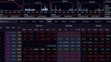Áp lực bán mạnh, VN-Index lại mất gần 28 điểm