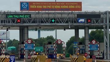Hà Nội: Lập chốt kiểm soát phòng, chống dịch tại trạm thu phí cao tốc Hà Nội - Hải Phòng