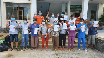 Phú Yên: Hơn 1.000 bệnh nhân mắc Covid-19 được chữa khỏi bệnh và xuất viện