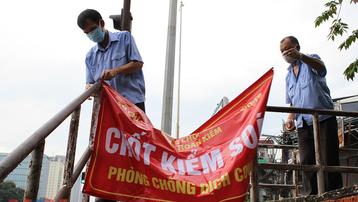 Hà Nội: Dỡ bỏ cách ly y tế phường Chương Dương