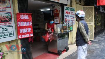 Từ 12h ngày 16/9, cơ sở kinh doanh dịch vụ ăn uống ở Hà Nội được mở cửa trở lại, chỉ bán hàng mang về