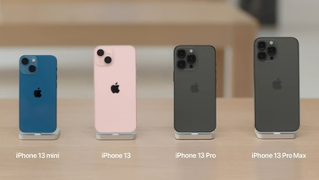 Hình ảnh thực tế của loạt iPhone 13