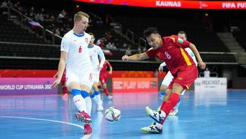 Kết quả futsal Việt Nam 1-1 CH Czech: Phần thưởng cho tinh thần quả cảm