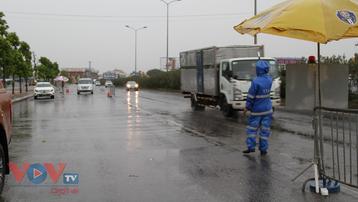 Công an thành phố Hà Nội tiếp tục duy trì 55 chốt kiểm soát dịch COVID-19