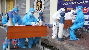 Ngày 24/9, Việt Nam ghi nhận 8.537 ca mắc COVID-19 mới