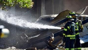 Máy bay đâm vào tòa nhà thuộc tập đoàn của cựu Tổng thống Mỹ Trump, 4 người thiệt mạng