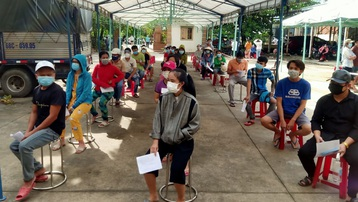 Bình Dương đã tiêm 450.000 liều vaccine Vero Cell cho người dân