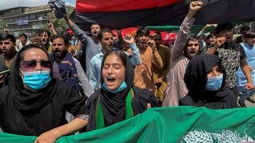 Taliban siết chặt biểu tình ở Afghanistan