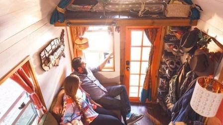 Cuộc sống trong ngôi nhà 12 m2