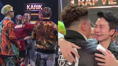 Hé lộ câu nói của JustaTee dành cho MCK sau khi cứu Tlinh, xúc động khoảnh khắc HLV Karik ôm dàn học trò khóc nức nở