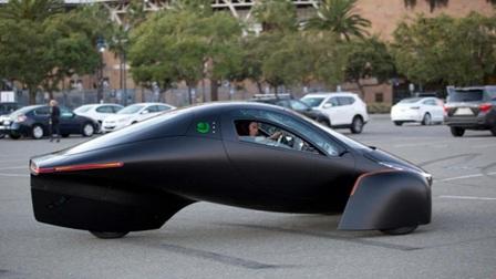 Xe điện 3 bánh hình thù lạ mắt có thể đi được 1.600km sau một lần sạc pin