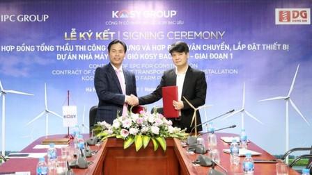 Goldwind ký kết hợp đồng cung cấp turbine tại dự án điện gió Kosy Bạc Liêu