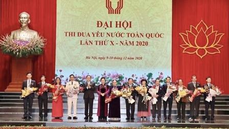 Ông Johnathan Hạnh Nguyễn: Gương điển hình tiên tiến của Đại hội thi đua yêu nước toàn quốc lần thứ X