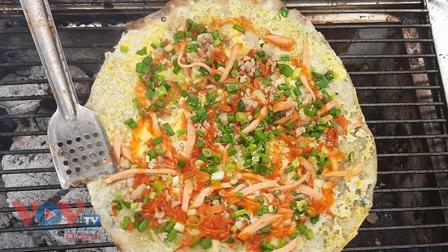 """Bánh tráng nướng - """"Pizza đường phố"""" Sài Gòn"""