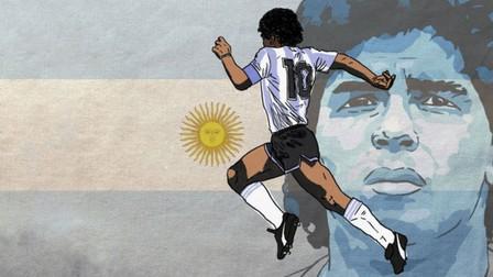 """Cầu thủ vô danh tái hiện """"siêu phẩm thế kỷ"""" của Maradona"""