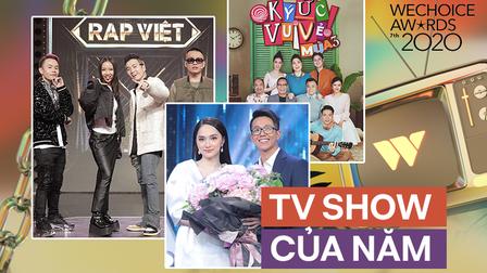 Rap Việt dẫn đầu đề cử TV show của năm tại WeChoice với số phiếu áp đảo, Ký Ức Vui Vẻ bất ngờ vươn lên hạng 2
