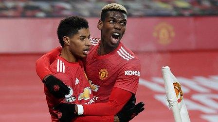 Vòng 16 Ngoại hạng Anh: Chiến thắng ở phút bù giờ, MU vươn lên đứng thứ 2 BXH