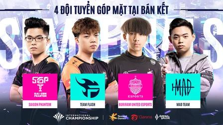 Lịch thi đấu bán kết AIC 2020: Việt Nam chắc chắn có đại diện lọt vào chung kết