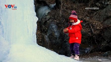 Băng giá biến điểm du lịch ở Bắc Kinh thành xứ sở thần tiên