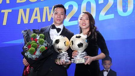 Điểm nhấn Gala Quả bóng Vàng 2020: Hà Nội FC phá 3 kỷ lục của SLNA
