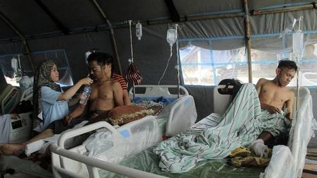 Nạn nhân vụ động đất ở Indonesia tăng lên 78 người