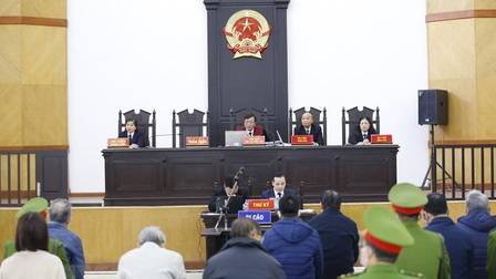 Xét xử Vũ Huy Hoàng và đồng phạm: Lần thứ 2 hoãn phiên tòa do thiếu nhiều người liên quan