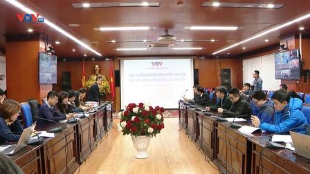 Đài TNVN tập huấn nghiệp vụ tuyên truyền Đại hội đại biểu toàn quốc lần thứ XIII của Đảng cho phóng viên, biên tập viên