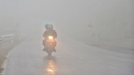 Thời tiết hôm nay: Bắc Bộ ấm dần, sương mù vào sáng sớm