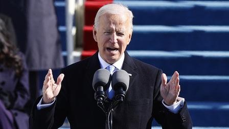 Tuyên thệ nhậm chức, Tổng thống Mỹ Joe Biden ra thông điệp kêu gọi đoàn kết