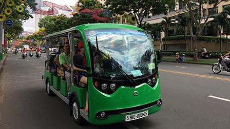 TPHCM đề xuất mở tuyến xe điện phục vụ khách du lịch tại Cần Giờ
