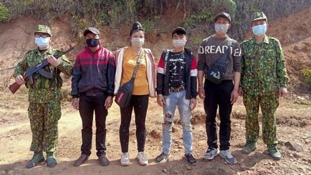 Điện Biên: Phát hiện, bắt giữ 4 người nhập cảnh trái phép qua biên giới