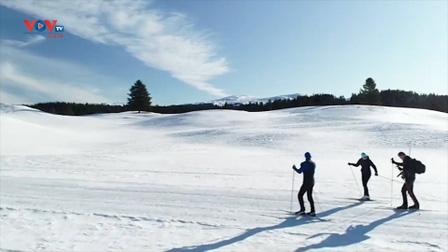 Pháp: Thiên đường trượt tuyết ở dãy núi Jura