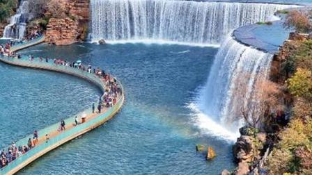 Trầm trồ tuyệt tác thác nước nhân tạo đẹp nhất Trung Quốc và lớn nhất châu Á