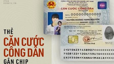 5 điều cần biết về thẻ Căn cước công dân gắn chip điện tử được phát hành kể từ tháng 1/2021