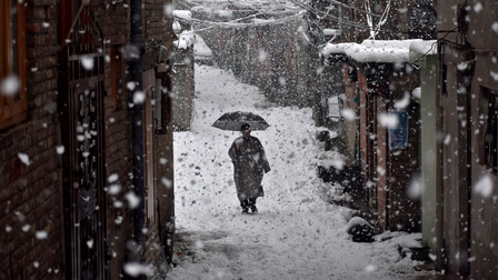 Khoảnh khắc mùa đông ấn tượng khắp thế giới