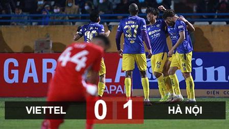 Đánh bại Viettel, Hà Nội giành Siêu cúp Quốc gia