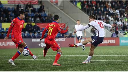 Andorra 0-5 Anh: Tam sư phô diễn sức mạnh