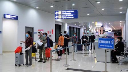 Hải Phòng: Hành khách đến sân bay Cát Bi không phải cách ly y tế tập trung
