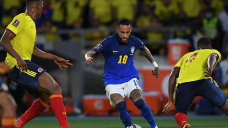 Bị Colombia cầm chân, Brazil đứt mạch toàn thắng