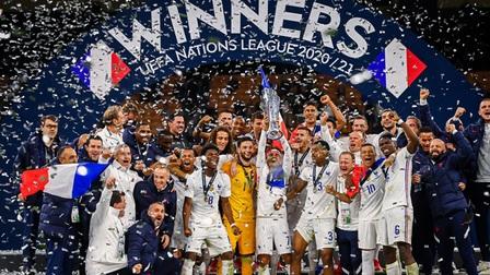 Ngược dòng trước Tây Ban Nha, Pháp trở thành tân vương UEFA Nations League